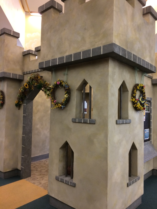 A library with a castle? Sign me up! Kudos to Verona Public Library