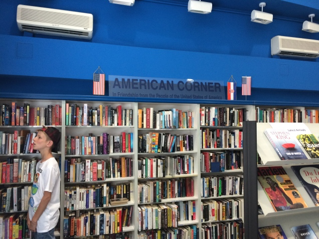 American Corner, Knjižnica i čitaonica Bogdana Ogrizovića