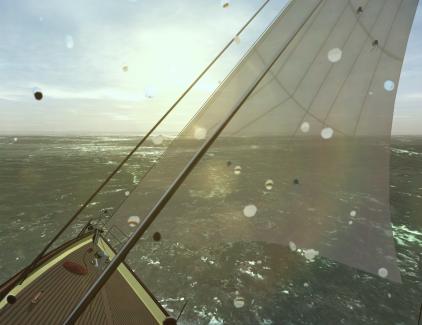 Sunshine on sails.